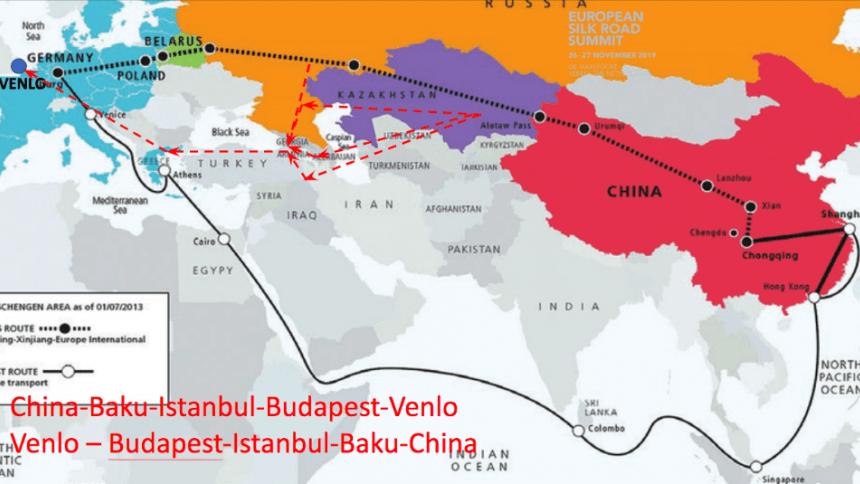 Новый Шелковый путь в Голландию через Каспий откроется летом