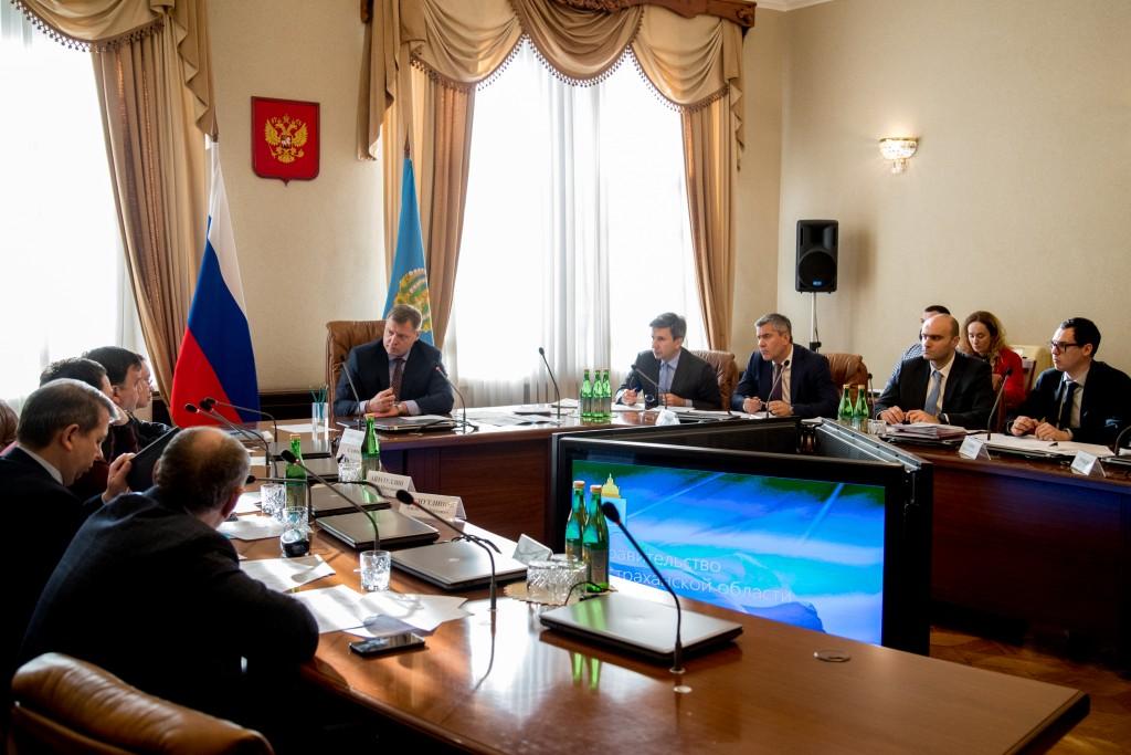 Астраханская область начинает подготовку ко второму Каспийскому экономическому форуму