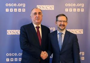 Генеральный секретарь ОБСЕ и глава МИД Азербайджана обсудили совместный каспийский проект