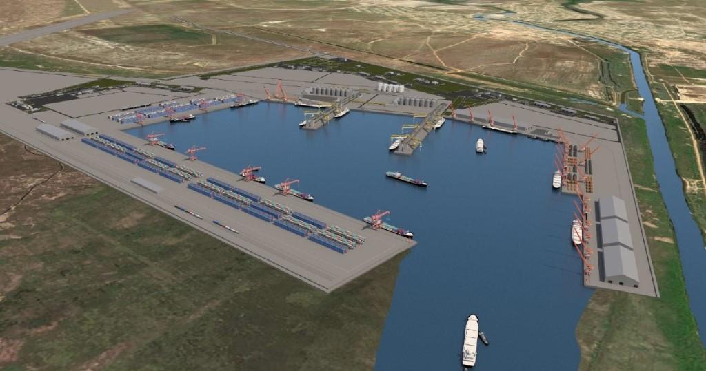 Правительство России распорядилось подготовить обоснование строительства порта Лагань