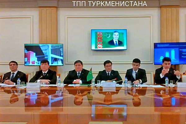 Состоялось совещание по линии торгово-промышленных палат России и Туркменистана