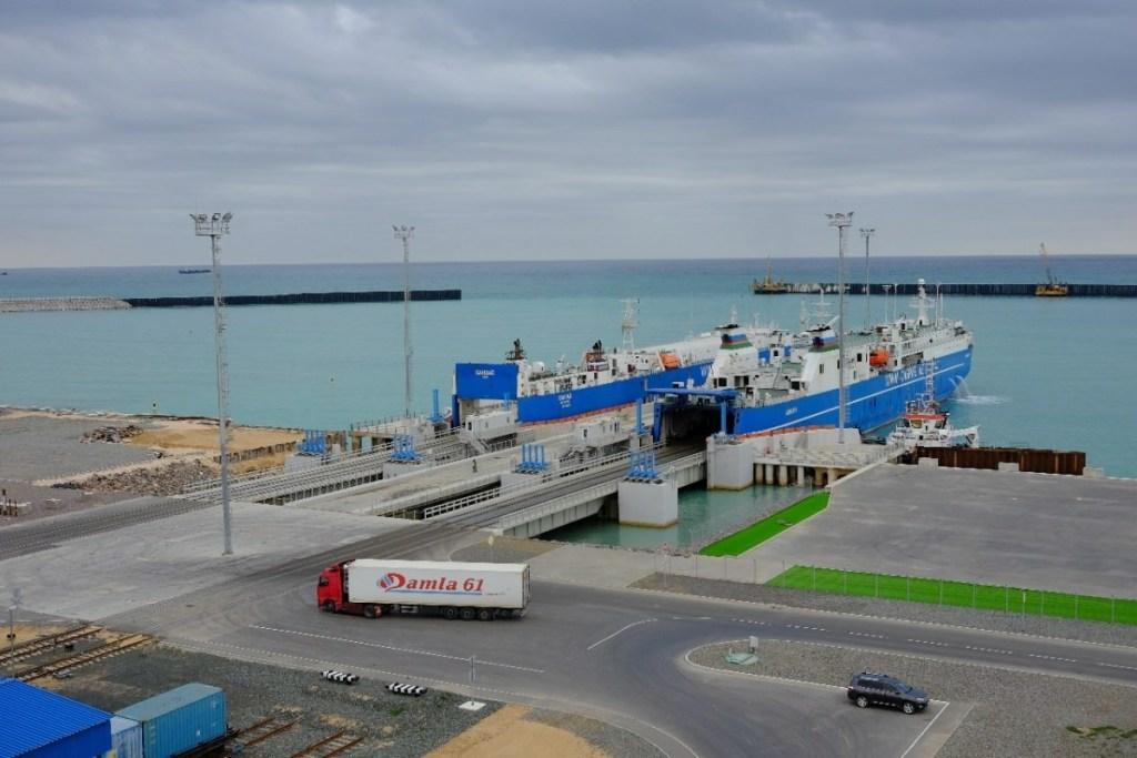 Грузооборот порта Курык за 1 полугодие 2020 года увеличен на  7%