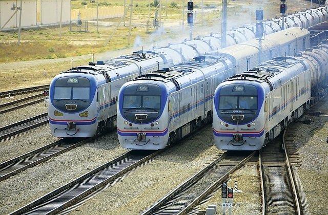 Ежедневный транзит грузовых вагонов между Туркменистаном и Ираном