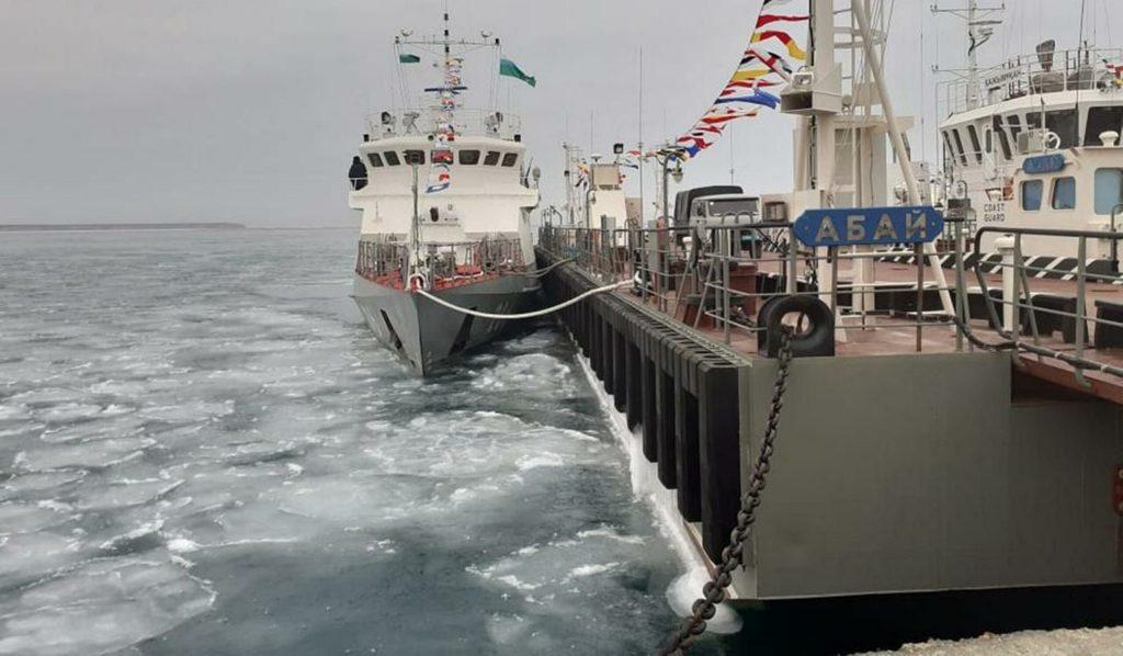 В казахстанском порту Курык сдан в эксплуатацию  пункт маневренного базирования