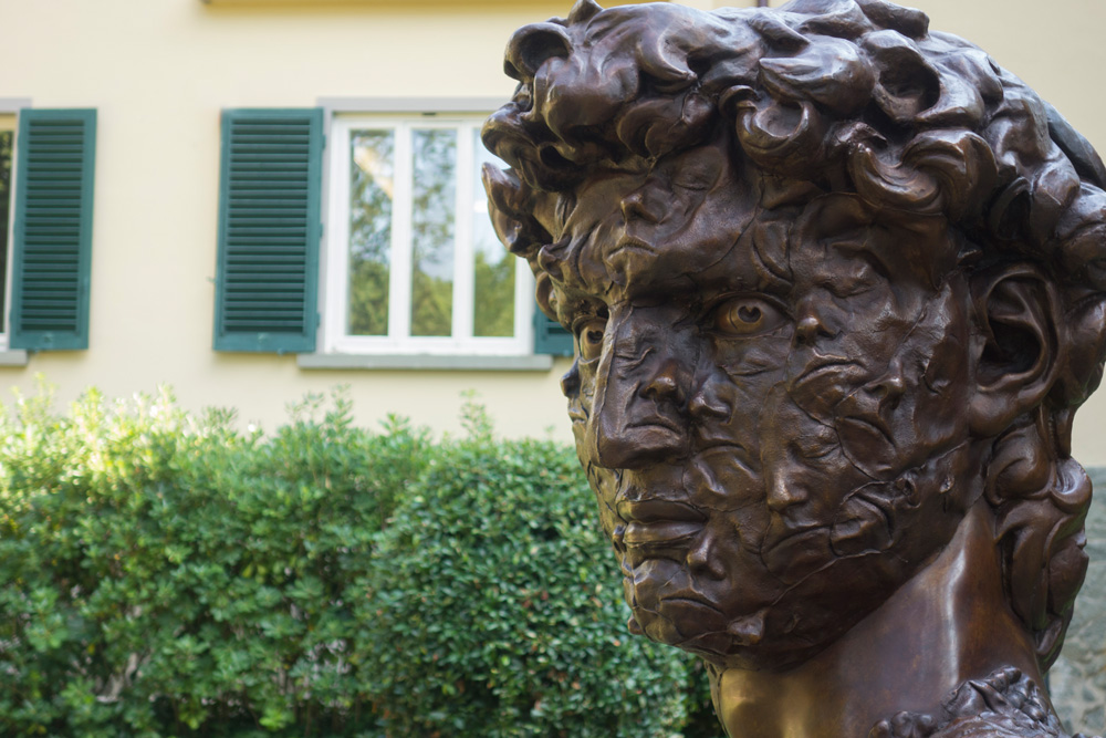 David/Self-portrait 11 arrived in Florence
