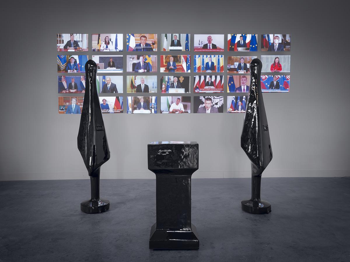 Caspar Berger - Video Installation Cordon Sanitaire 2020