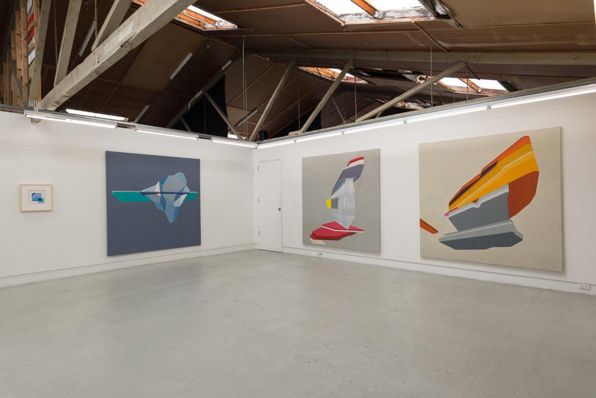 Caspar Fairhall: Nine times the space: installation view