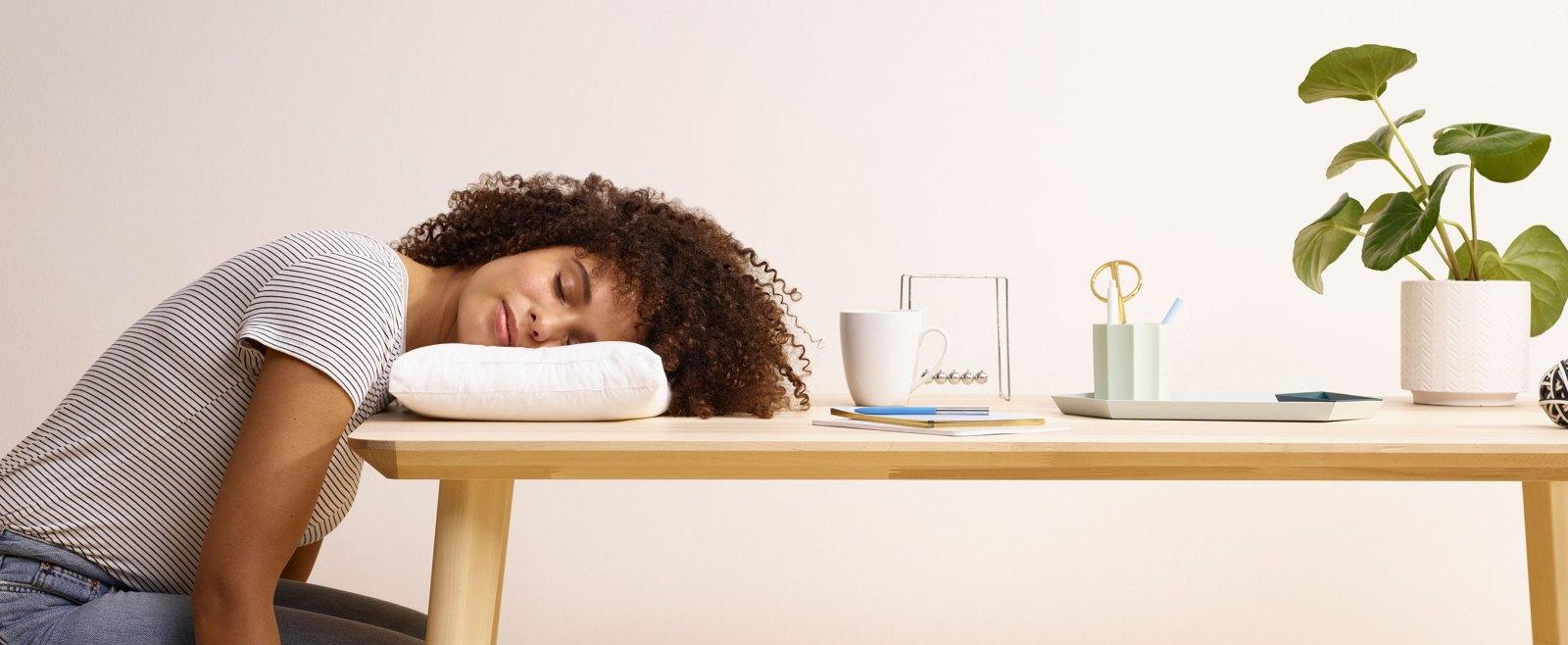 nap pillow small travel pillow casper
