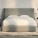 Haven Upholstered Bed Frame And Headboard Casper