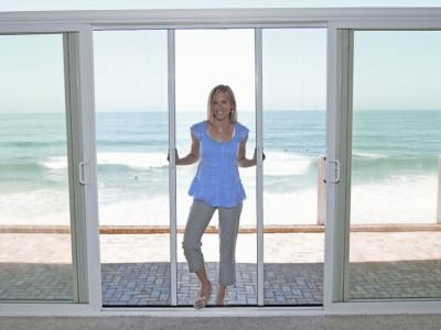 Retractable screen doors casper disappearing for 8 foot retractable screen door