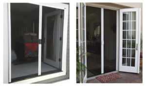 Casper Retractable Screens Work on In-Swing & Out-Swing Doors