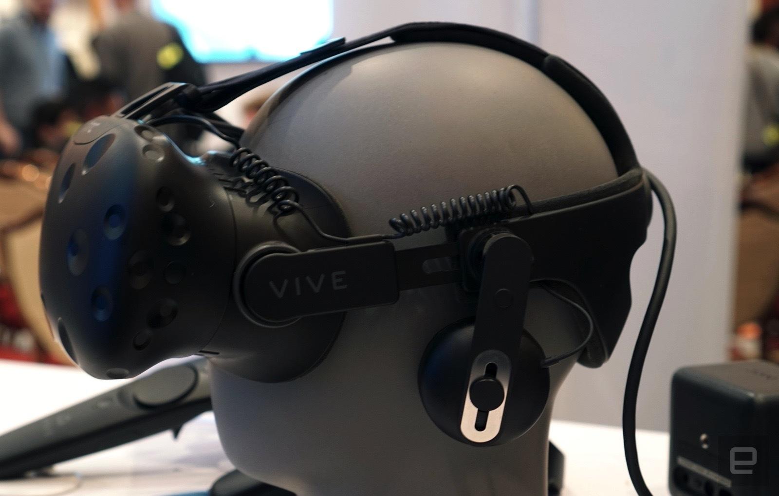 CES 2017 - VIVE supprime les fils de son casque