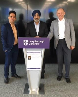 Visit to Loughborough University