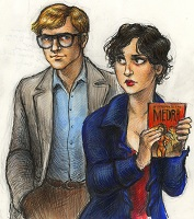 Alan and Celia from A Question of Time by Joanne Renaud