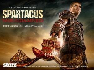 Spartacus: War of the Damned Starz Original Series