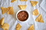 Fresh Salsa Recipe Medium with Tortilla Chips
