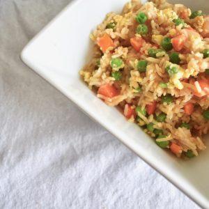 Vegetarian Teriyaki Fried Rice