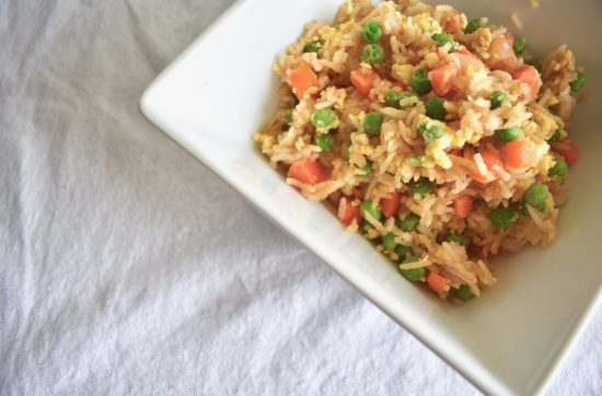 Vegetarian Teriyaki Fried Rice