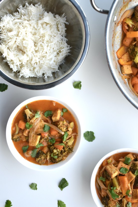 vegan masaman coconut curry