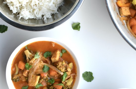 vegan masaman coconut curry