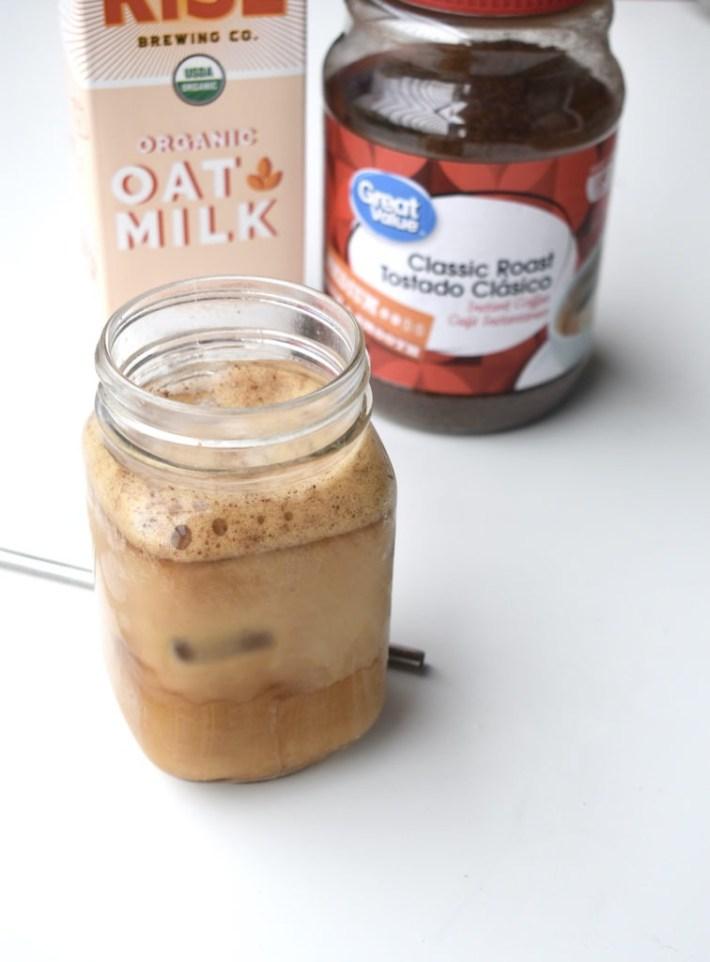 starbucks plant based iced brown sugar oatmilk shaken espresso