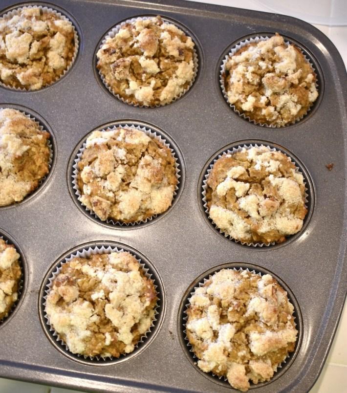 Vegan Pumpkin Strudel Muffins
