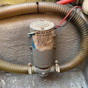 Pompe de cale 24V pièce détachée