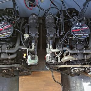 Moteur Mercruiser 4.3L V6 MCM