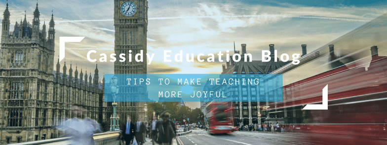 Tips To Make Teaching Joyful