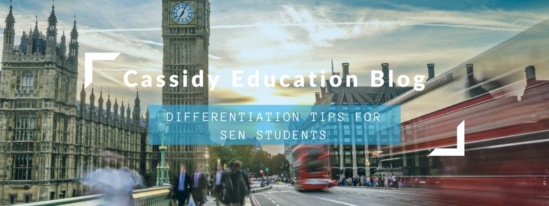 Differentiation Tips for Special Education Needs Students