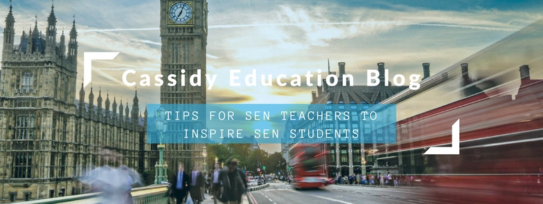 Tips For SEN Teachers To Inspire SEN Students