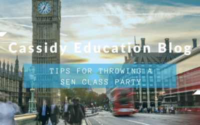 Top Tips For Throwing A SEN Class Party