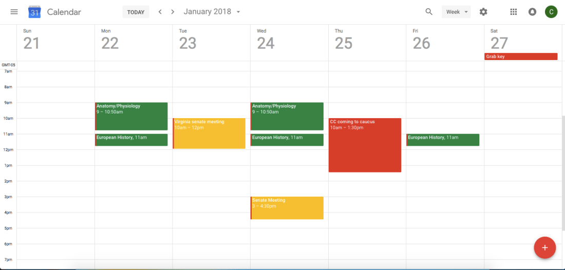 How to use Google Calendar to get Straight A's - Cassidy Lucille