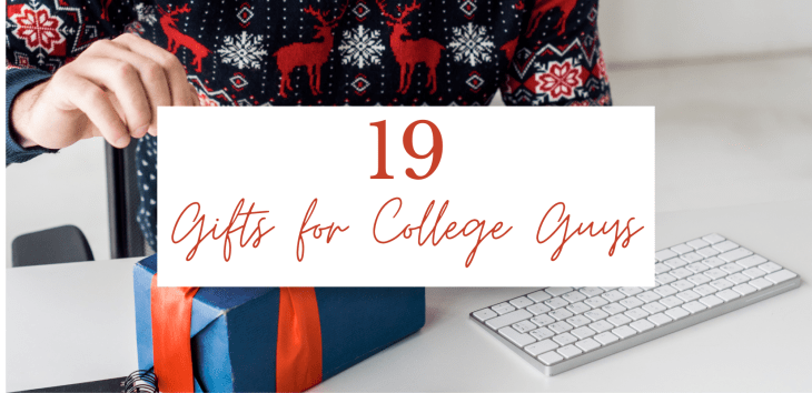 19 Genius Gifts for College Guys | Unique Christmas Gifts for Guys