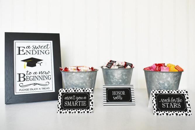 high school graduation party decorations