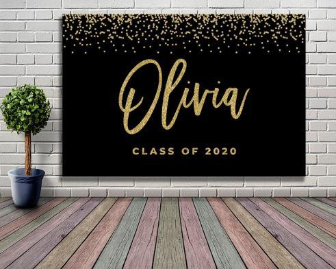 graduation party backdrops