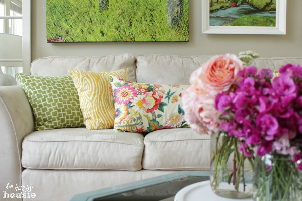 The Happy Housie Home Tour for Primitive and Proper Living Room 4