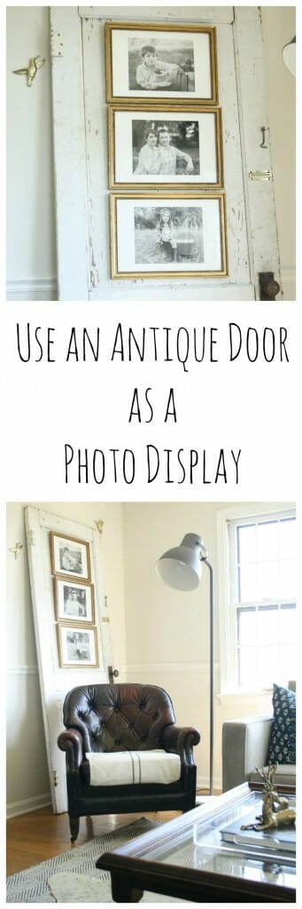 Use a Door as a Photo Display