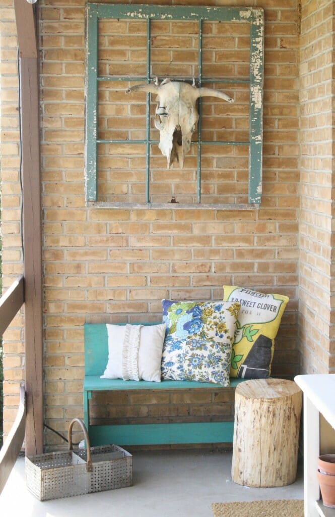 Spring porch entry
