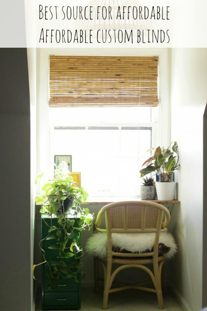 best source for affordable custom blinds