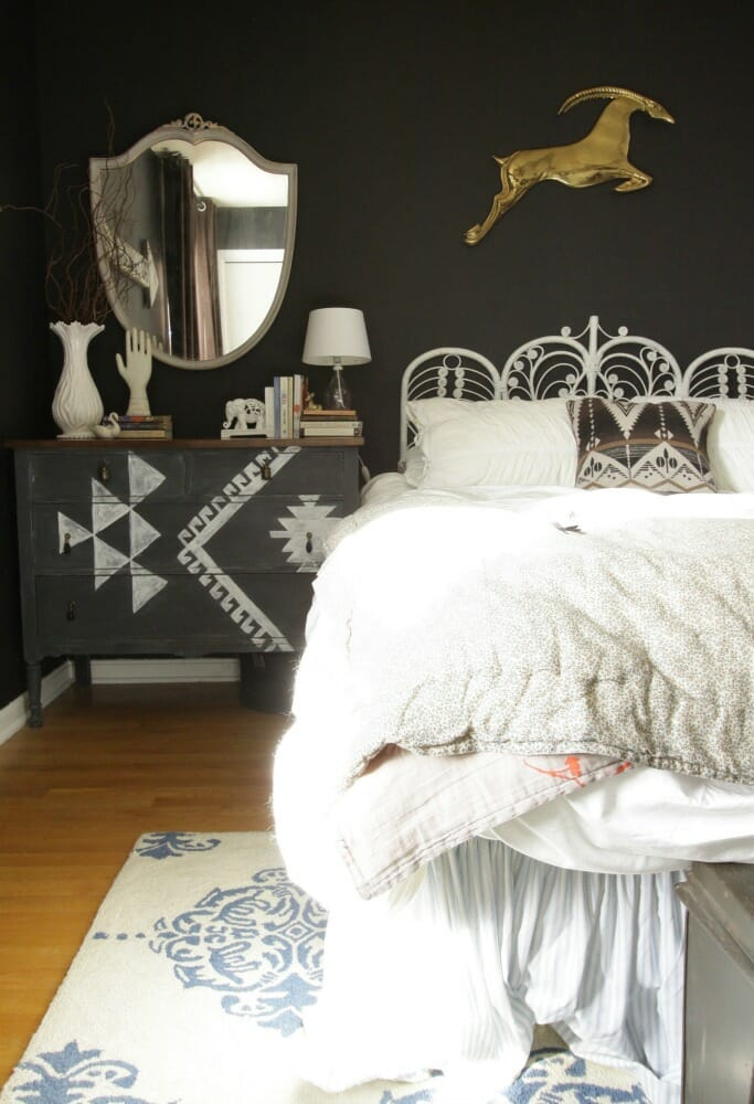 Gazelle Jumping Over bed