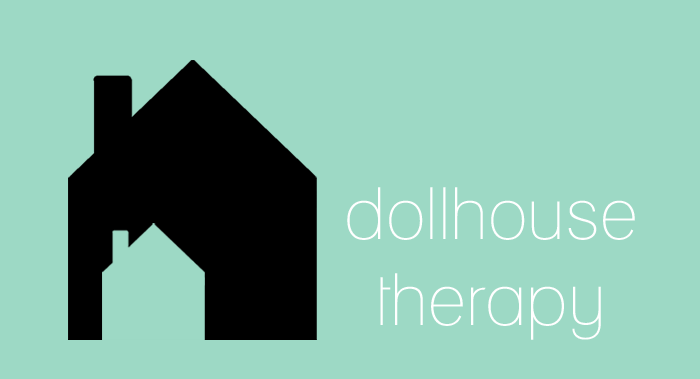 dollhouse therapy graphic mint