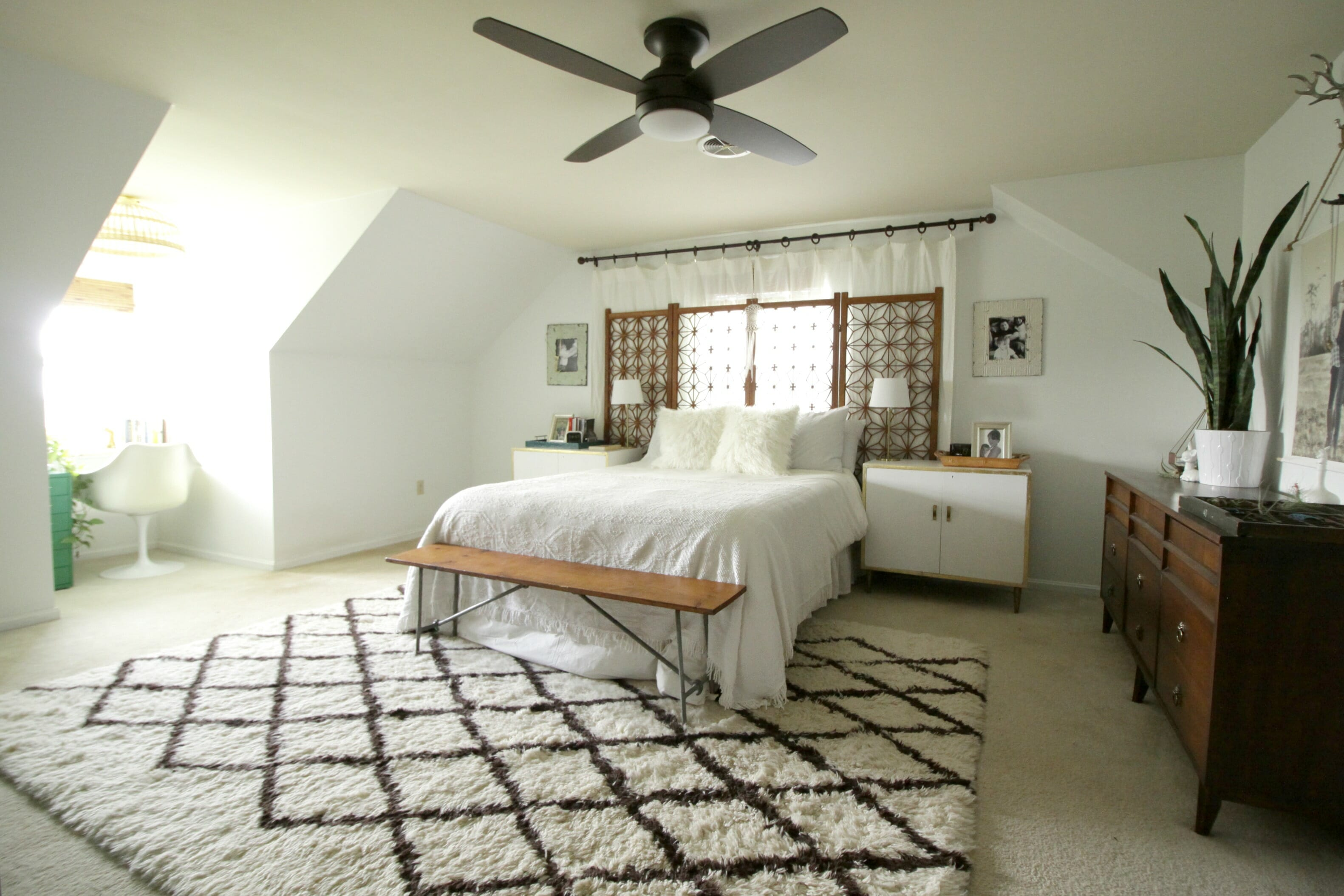 ceiling fans for bedrooms. It also works well with the rug we have in this space  oil rubbed bronze leaning more towards a dark brown than black New Ceiling Fan Master Bedroom Cassie Bustamante
