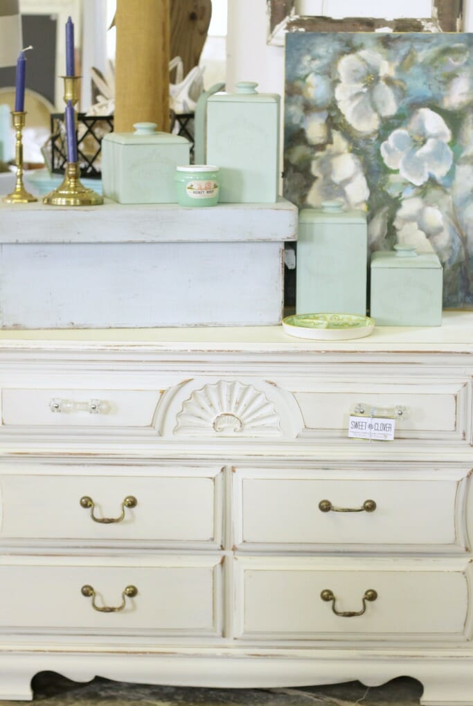 Beachy Coastal Colored Vignette at Sweet Clover