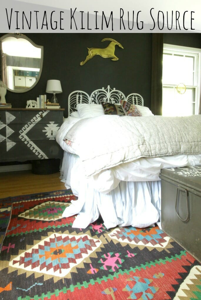 Awesome source for Vintage Kilim Rugs