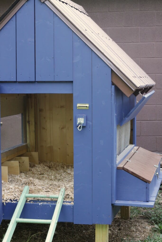 Nesting Boxes in Coop