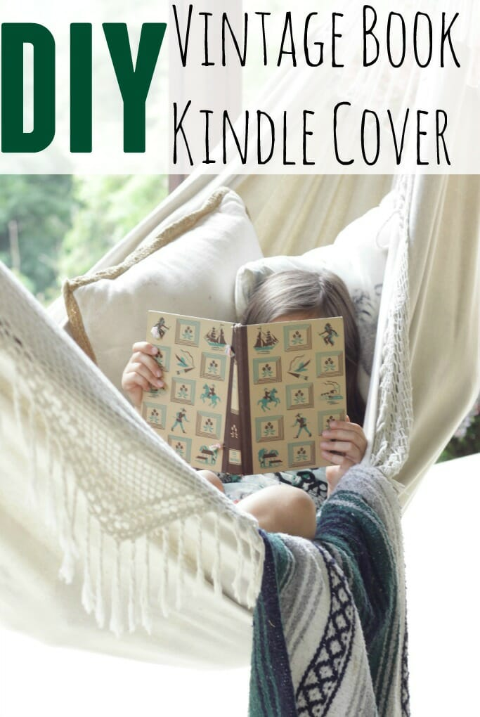 Diy Old Book Cover : Diy vintage book kindle cover cassie bustamante