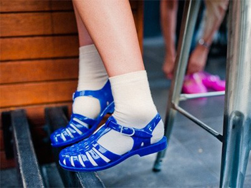 c9df9c8cb171 Do you remember jelly shoes  As a child I used to wear to wear jelly shoes  all summer long – they kept your feet cool