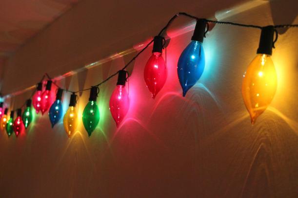 cassiefairy over-sized christmas fairy lights