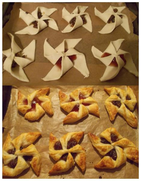 sweet and savoury star tarts recipe method on the cassiefairy blog